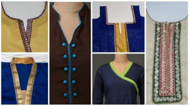 Kurta Neck Design