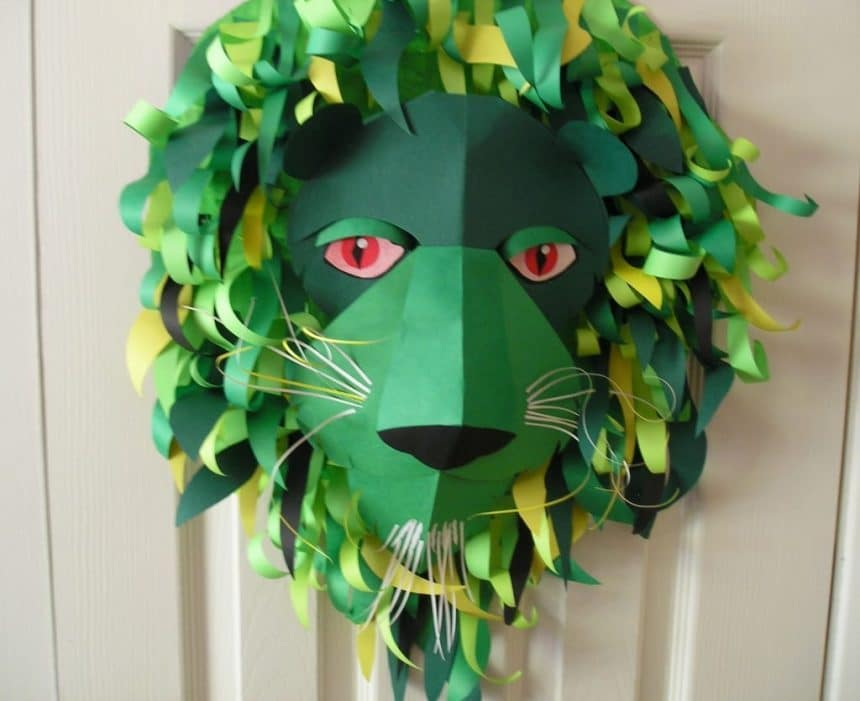 To Make Animal Mask For Kids Simple Craft Ideas