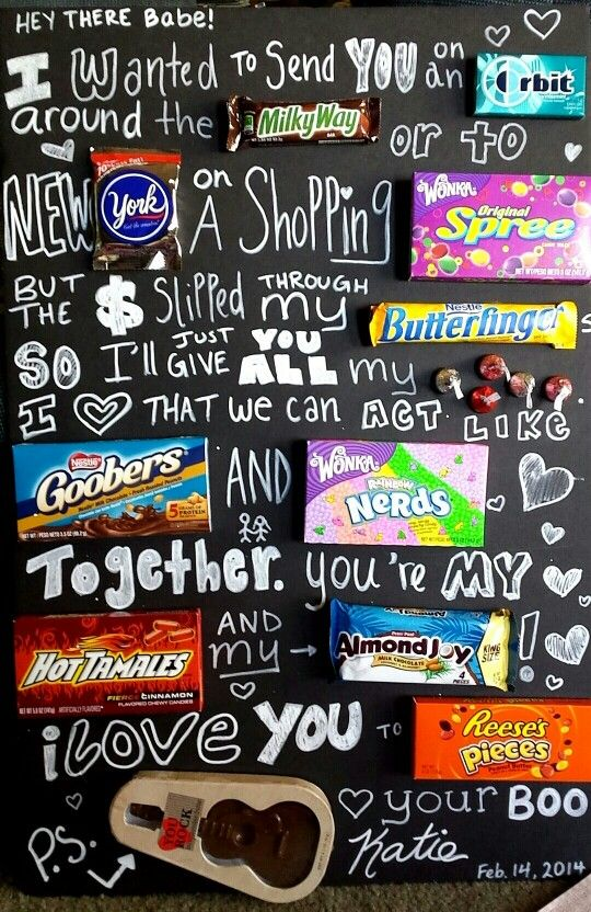Valentine Cards Made With Candy Bars Enam Valentine