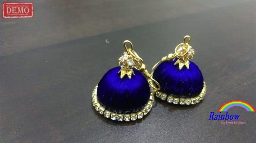 Silk Thread Jhumkas New Designs