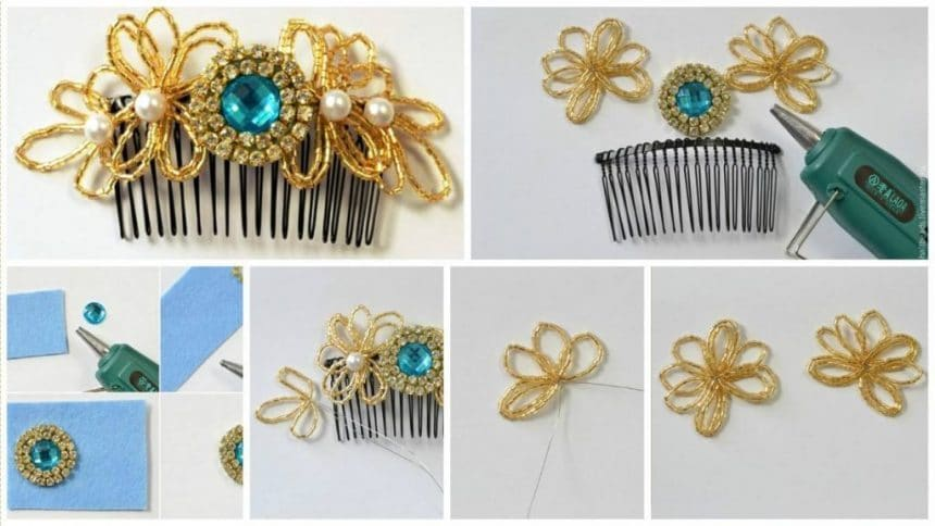 How to decorate the comb