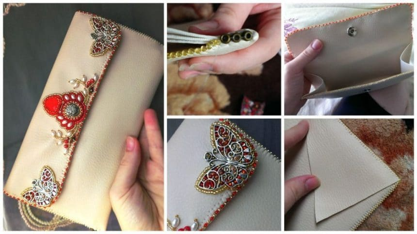 How to sew a clutch purse without a sewing machine