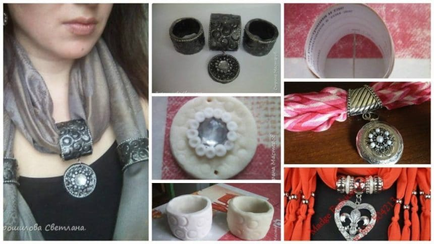 How to make pendant scarf