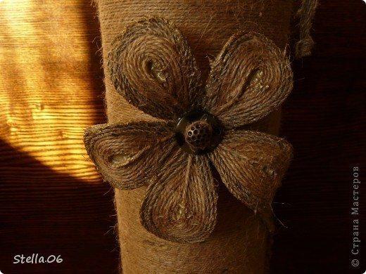 Цветы из жгута своими руками мастер класс