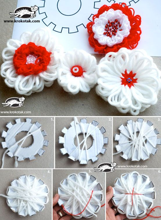 How To Make Different Type Of Loom Flower Simple Craft Ideas