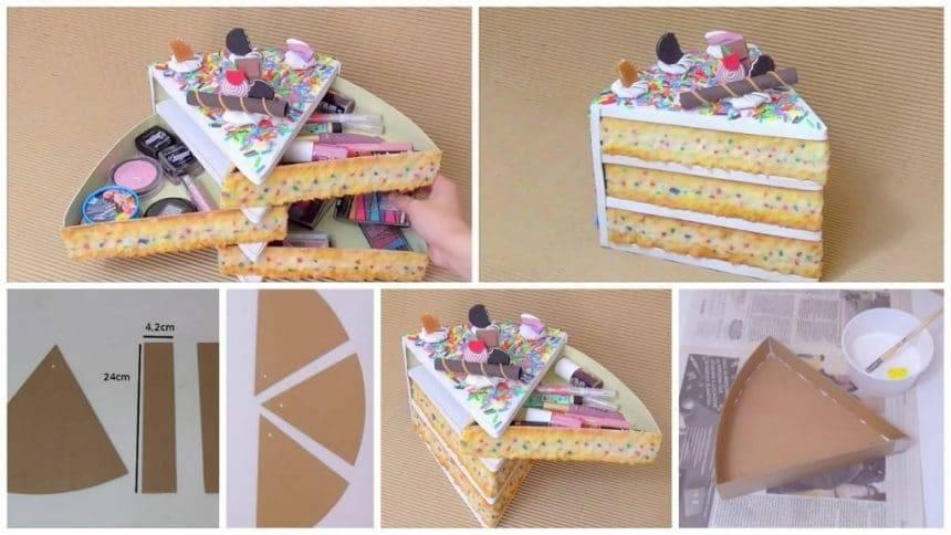 How to make organizer like kawaii cake