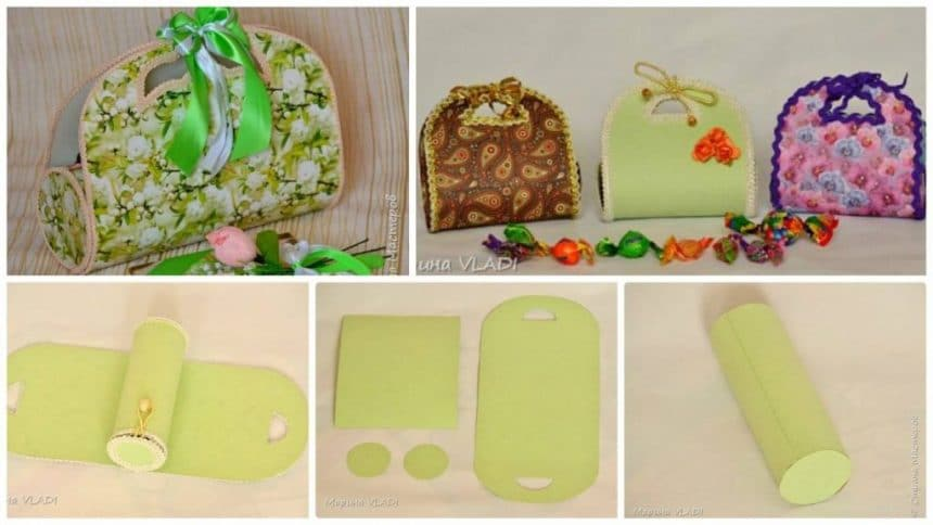 How to make gift bags for sweets