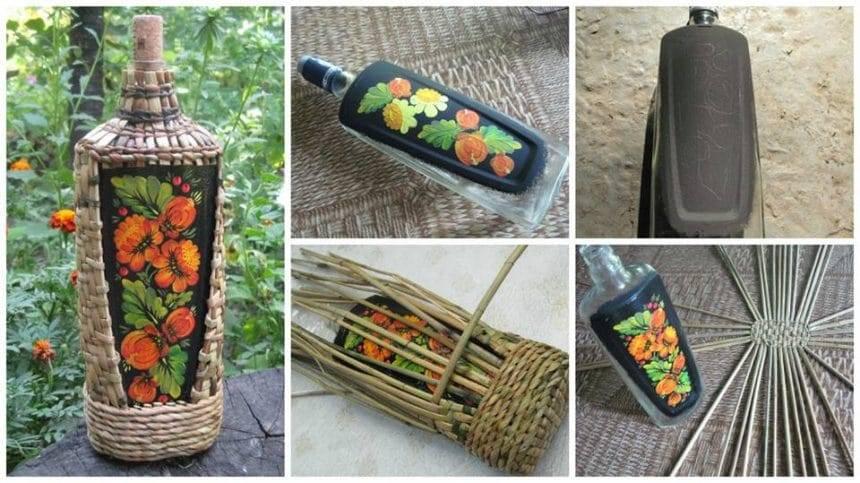 How to make marigold designs vase