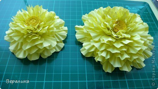 How to make marigold flower * Simple Craft Ideas