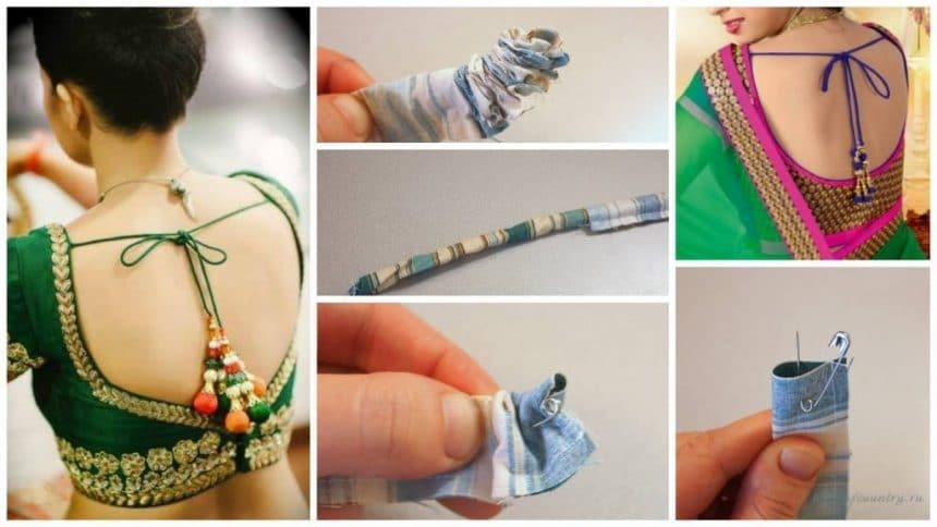 How to turn a small tube of fabric