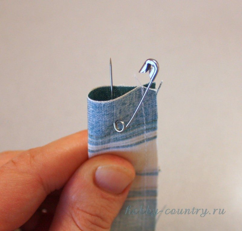small tube of fabric