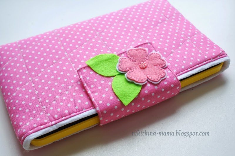 how to make mobile cover from cloth