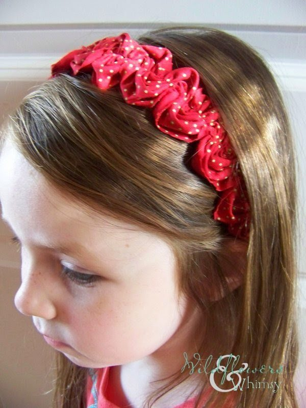 Ruffled Ric Rac Headband