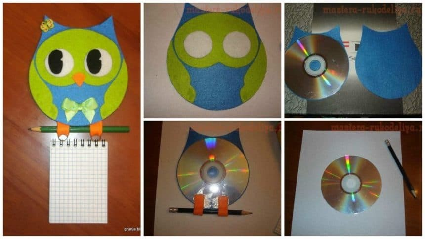 How to make decorative owls Notes from CD