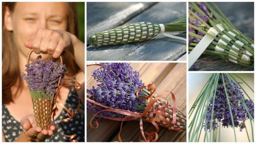 How to make lavender bottle