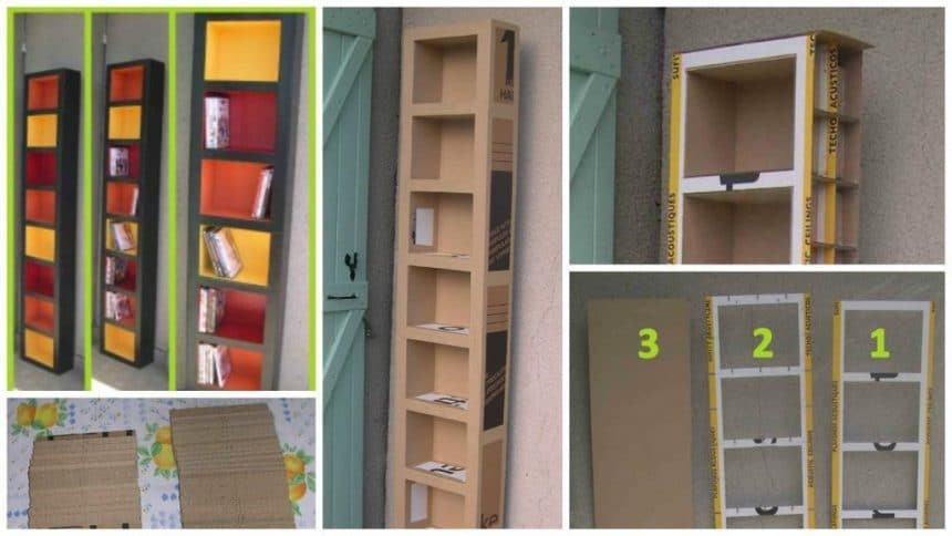 How to Make a cardboard furniture Simple Craft Ideas