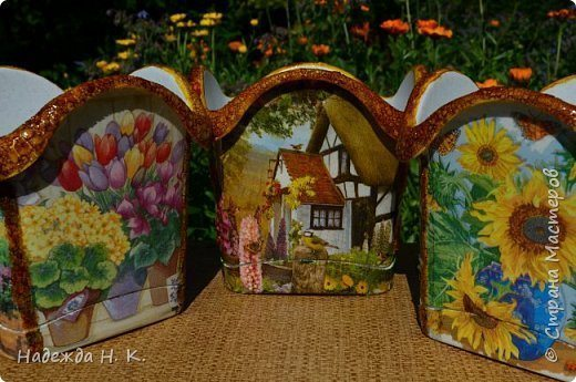 How To Make Decoupage Flower Pots Simple Craft Ideas