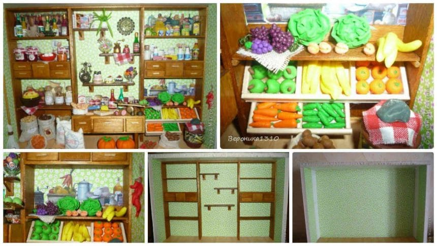 How to make miniature country store