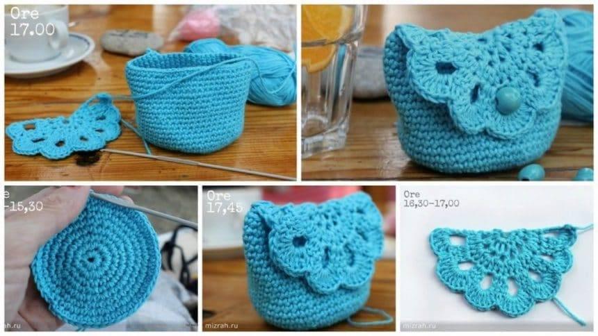 How to make cute hook purse