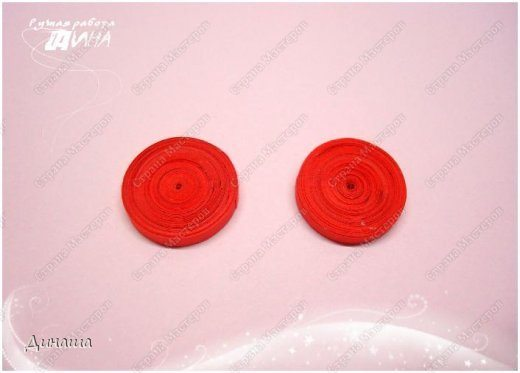 quilling strawberry