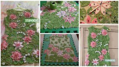 pink lotus dress