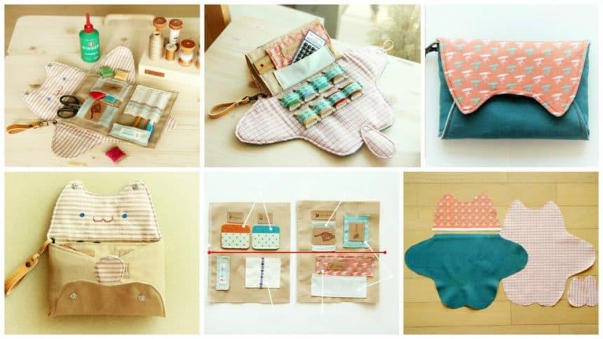 How to make sewing organizer bag
