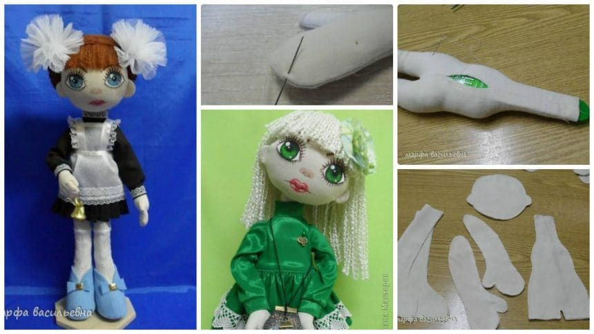How to make textile doll