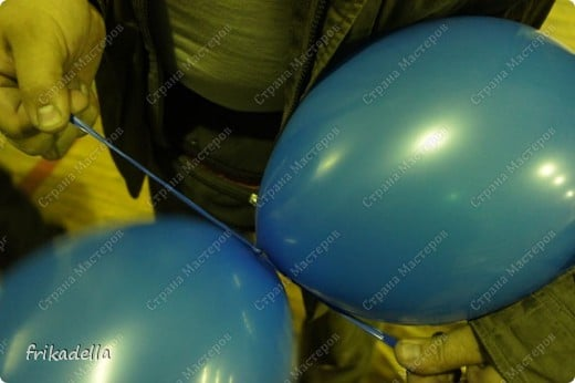 garland of balloons