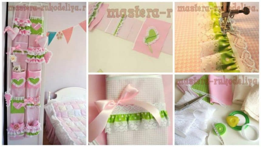 How to make organizer for the little princess