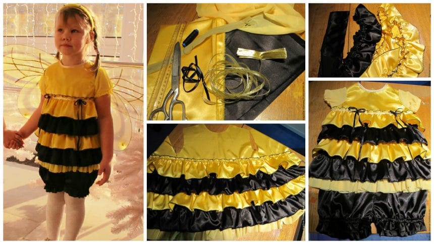 """How to sew carnival costume """"Bee"""""""