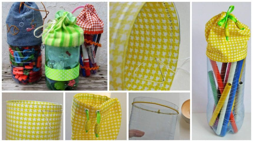 How to make handbags from bottles