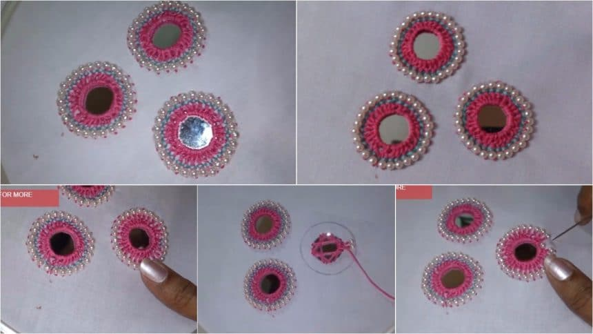 How to mirror work embroidery