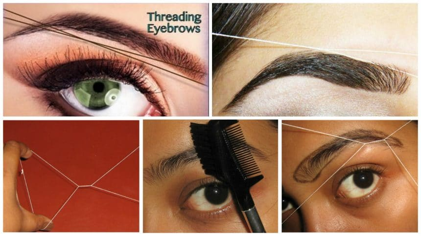 How To Shape Eyebrows At Home Simple Craft Ideas