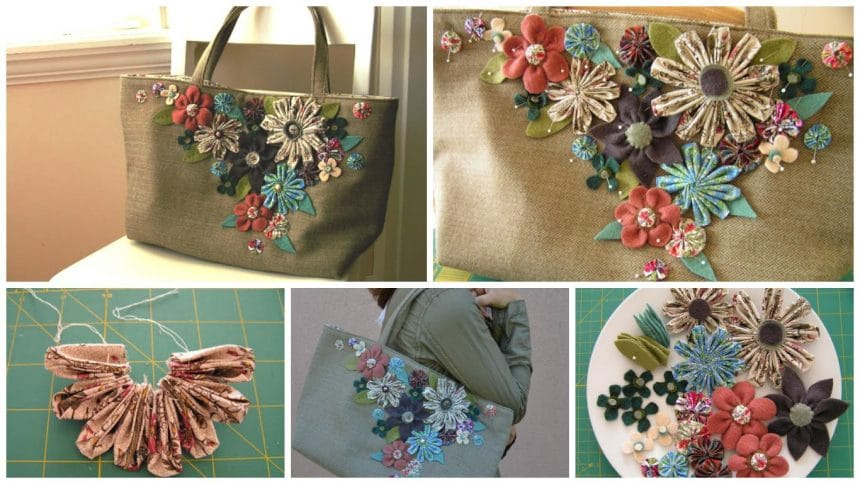 How to make a flower decorating bag