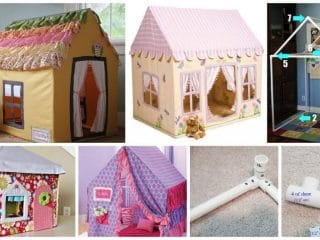 playhouse from PVC pipe