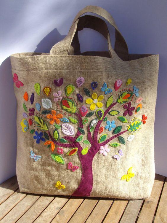 آموزش هایی با پارچه نمدی Different type of cloth bag patterns - Simple Craft Ideas