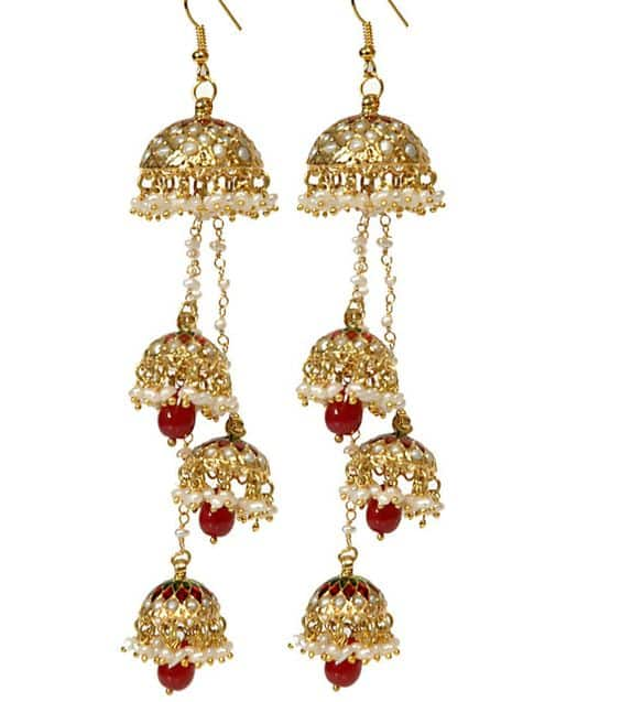 Different types of kashmiri jhumka – Simple Craft Ideas