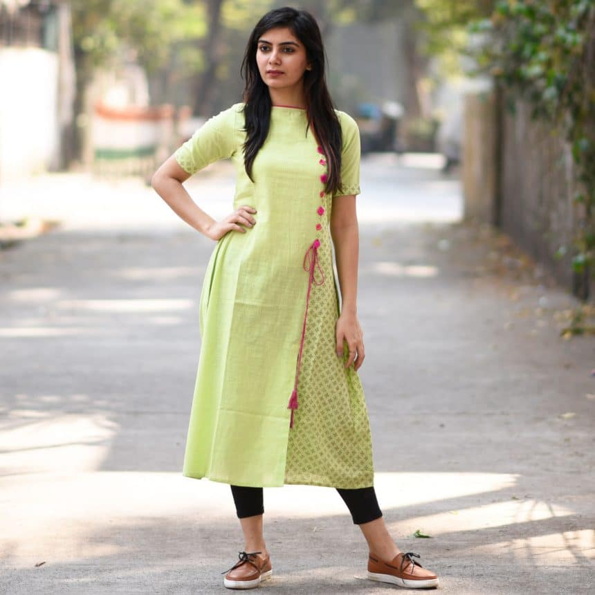 Different types of kurtis designs simple craft ideas for Images of designer