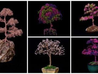 metal bonsai