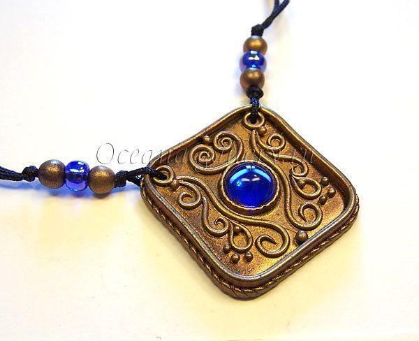 pendants in the technique of filigree