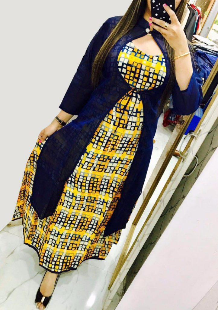 Different types of double layered kurtis