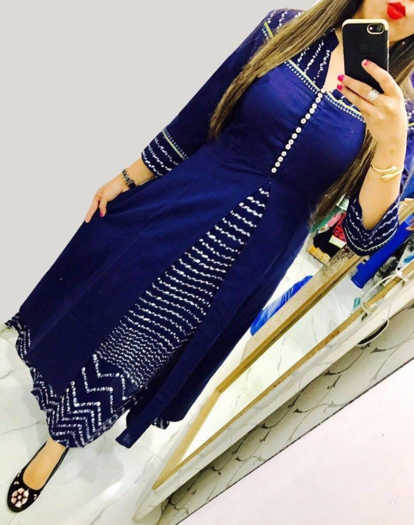 Different Types Of Double Layered Kurtis Simple Craft Ideas