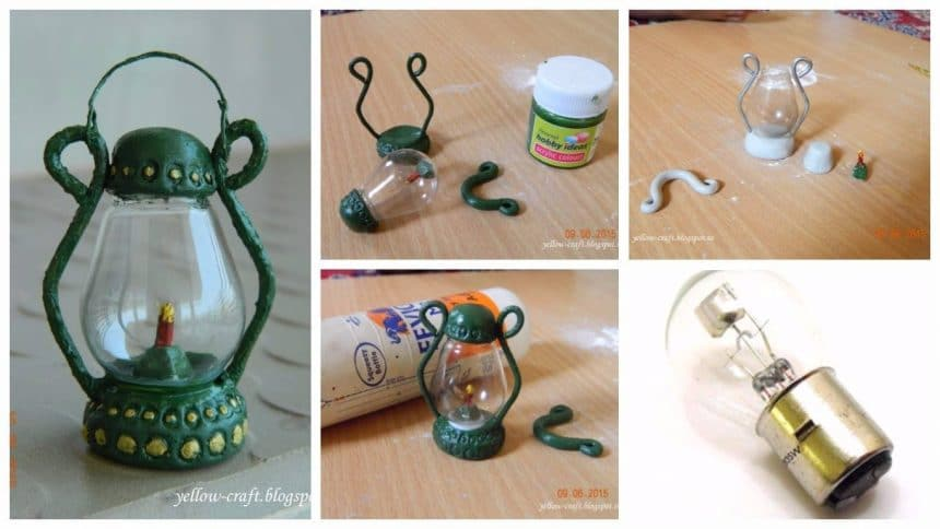 "How to make baby ""Bulb"" lantern"