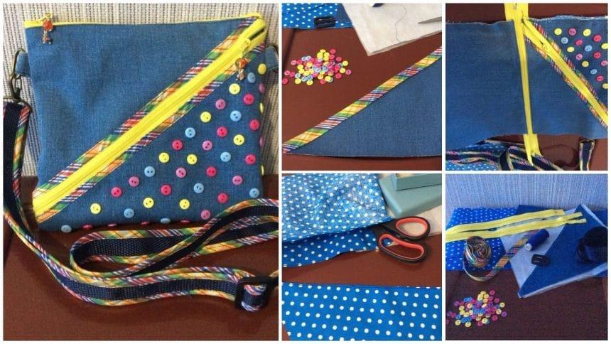 How to make a bright bag