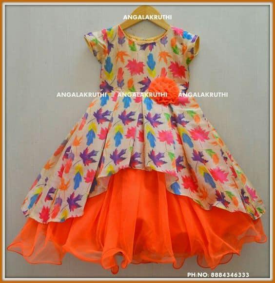 Fashion Designing Baby Frock
