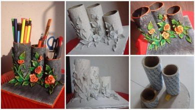 organiser from clay art