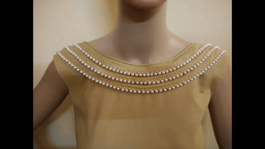 Latest Boat Neck Design Cutting And Stitching Simple