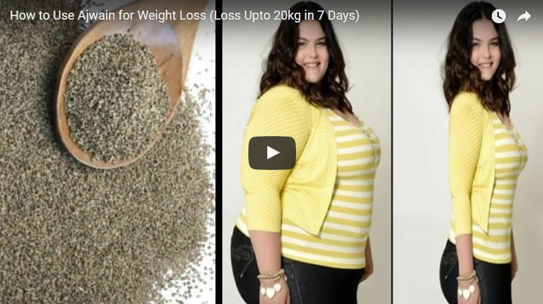 How to use ajwain for weight loss