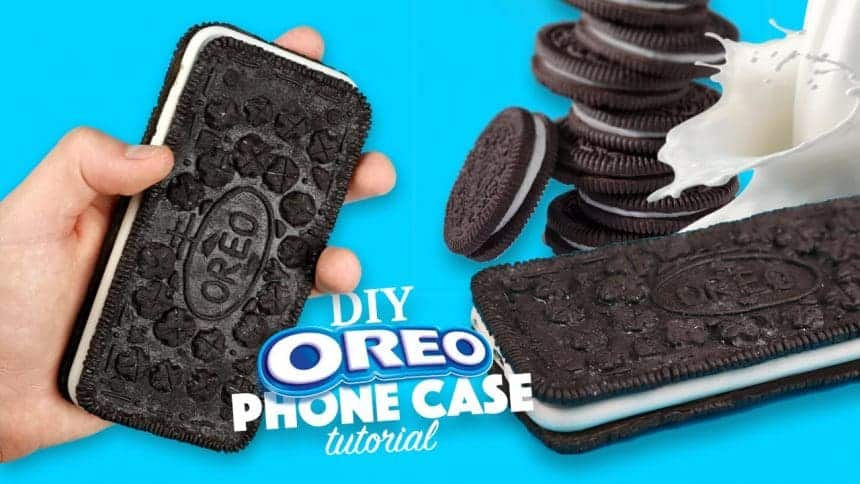 How to make an oreo phone case simple craft ideas for How to make phone cases at home
