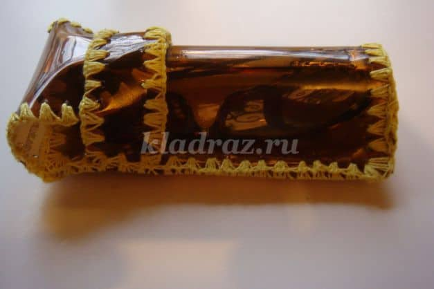 pencil pouch from plastic bottle